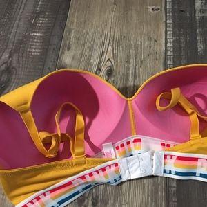 Pink Victoria secret wireless bra 34dd